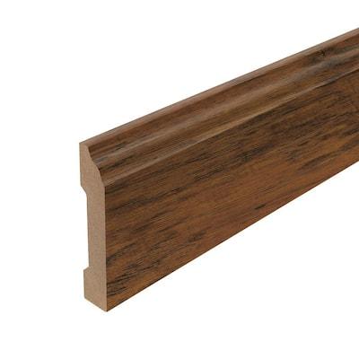 Cinnamon 5/8 in. T x 3-1/3 in. W x 94-1/2 in. L Base Molding