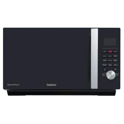 1.6 cu. ft. Countertop SpeedWave 3-in-1 Convection Oven, Air Fryer, Microwave with Combi Speed Cooking in Black