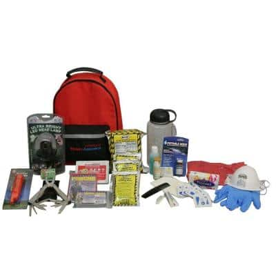 1-Person 3-Day Deluxe Emergency Kit with Backpack
