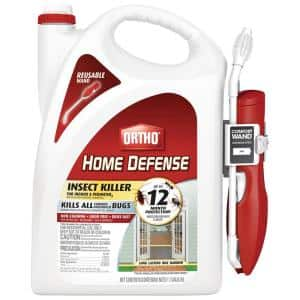 Home Defense 1.1 Gal. Insect Killer for Indoor and Perimeter2 with Comfort Wand Bonus Size