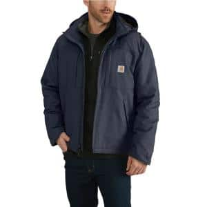 Red Kap Men S Large Navy Heavyweight Parka Jp70nv Rg L The Home Depot