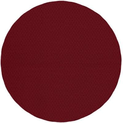 Town Square Chili Red 7 ft. 6 in. Round Area Rug