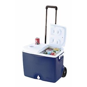 45 Qt. Blue Wheeled Cooler