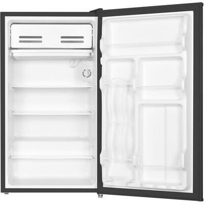 3.3 cu. ft. Mini Refrigerator in Black with Freezer