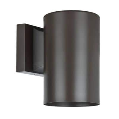 Architectural Exterior 1-Light Oil Rubbed Bronze Outdoor Wall Sconce