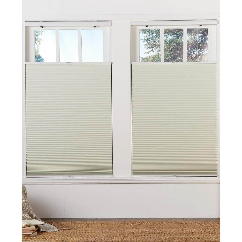 Reviews For Perfect Lift Window Treatment Cut To Width Cream 1 5in Cordless Blackout Top Down Bottom Up Cellular Shade 59in W X 72in L Qfcr590720 The Home Depot