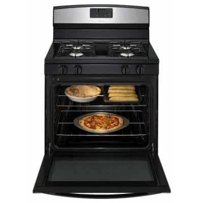 5.1 cu. ft. Gas Range in Stainless Steel