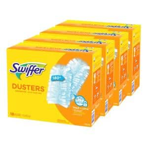 180 Unscented Multi-Surface Duster Refills (18-Count, 4-Pack)