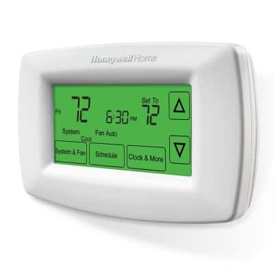 7-Day Programmable Thermostat with Touchscreen Display