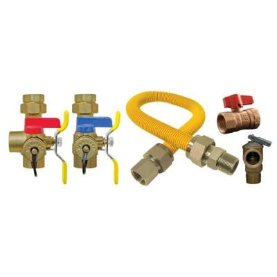 Isolator EXP Complete 3/4 in. IPS Union x IPS Lead-Free Tankless Water Heater Installation Kit