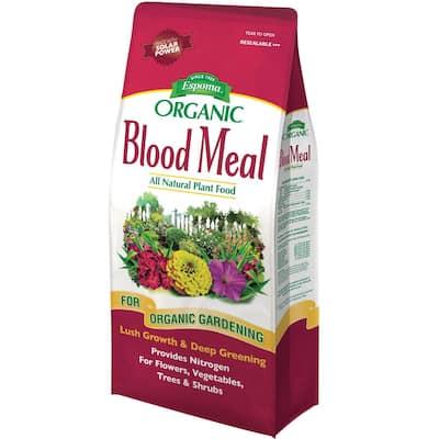 3 lbs. Organic All-Purpose Organic Blood Meal 12-0-0 Dry Fertilizer