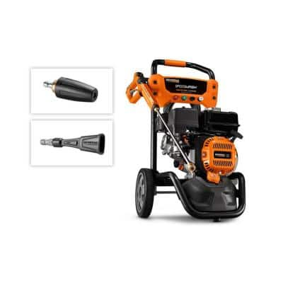 SpeedWash 2900 PSI 2.4 GPM Cold Water Gas Pressure Washer with 196 cc OHV Engine and Axial Cam Pump