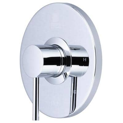 Motegi 1-Handle Valve Trim without Valve in Polished Chrome (Valve Not Included)