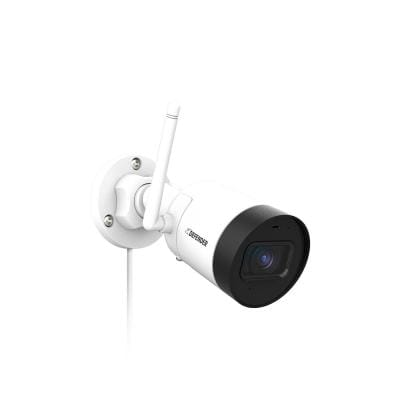 Guard Bullet Outdoor 2K(4MP) Wi-Fi. Plug-In Power. Security Camera with No Monthly Fees and SD Card Recording