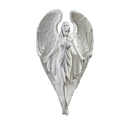 16.5 in. H Spiritual Path Angel Wall Sculpture