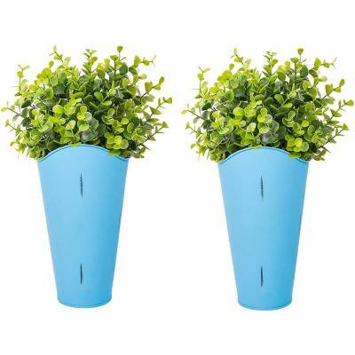 Metal Wall Planters Planters The Home Depot