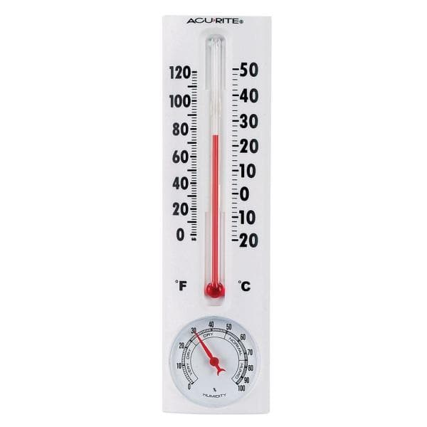acurite thermometer with humidity-00339hdsba2 - the home depot  the home depot