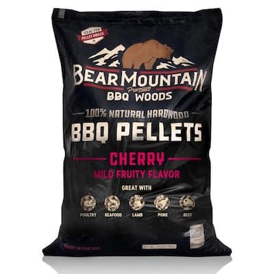 20 lbs. Premium All-Natural Hardwood Cherry BBQ Smoker Pellets