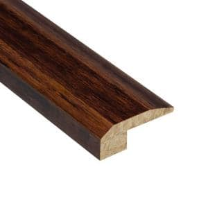 Strand Woven Sapelli 9/16 in. Thick x 2-1/8 in. Wide x 78 in. Length Bamboo Carpet Reducer Molding