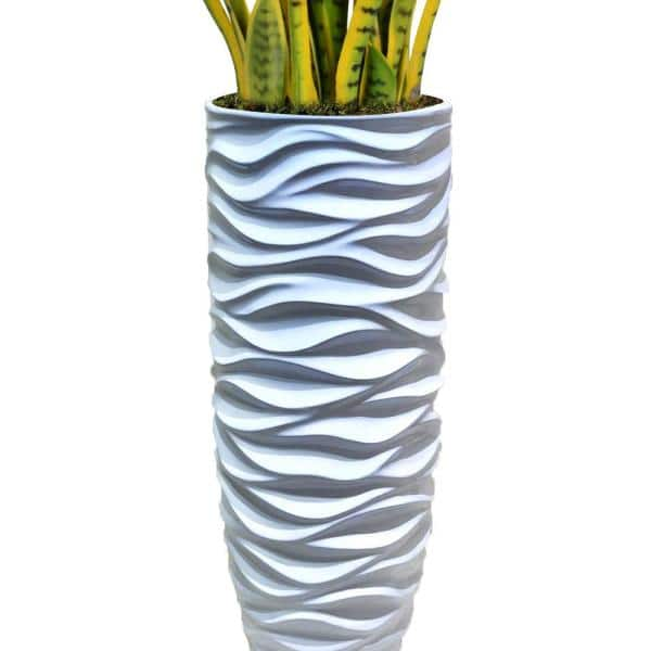 Vintage Home 66 In Tall Snake Plant Sansevieria Artificial Lifelike Faux In Resin Planter Vhx121222 The Home Depot