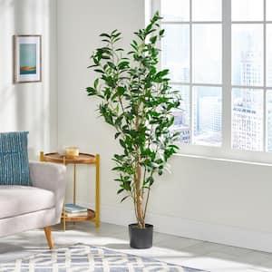 Bolivar 5.5 ft. Green Artificial Laurel Tree