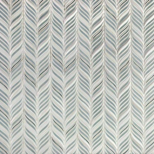 Ivy Hill Tile Delphi Alula Arctic Blue 10 In X 12 In Glazed Ceramic Mosaic Tile 0 85 Sq Ft Sheet Ext3rd105793 The Home Depot