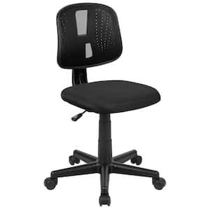 23 in. Width Standard Black Mesh Task Chair