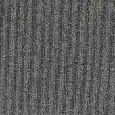 Elevations - Color Sky Grey 12 ft. Indoor/Outdoor Ribbed Texture Carpet