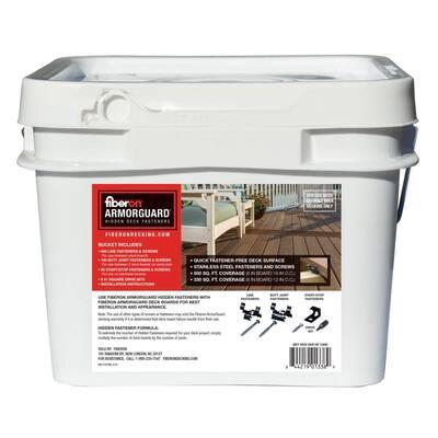 ArmorGuard Hidden Deck Fastener Bucket (900 per Count)