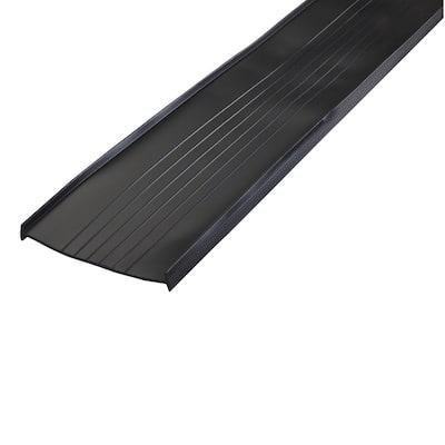 18 ft. Black Platinum Replace Vinyl Universal Garage Door Bottom P0199