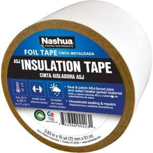2.83 in. x 10 yd. ASJ (All-Service Jacketing) Insulation Tape