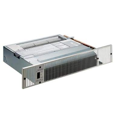 2000 Series 11,995 BTU Hydronic Kickspace Heater in Stainless Steel (Not Electric)