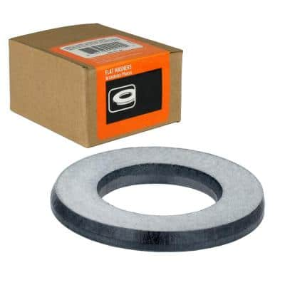 1/2 in. Stainless Steel Flat Washer (25-Pack)