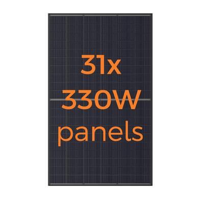 330-Watt Monocrystalline Solar Panel (31-Pack)