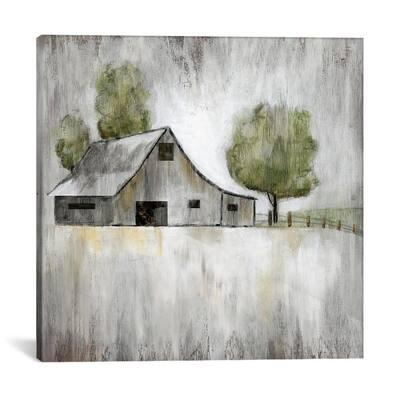 """Weathered Barn"" by Nan Canvas Wall Art"