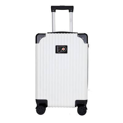 "Philadelphia Flyers premium 2-Toned 21"" Carry-On Hardcase in White"