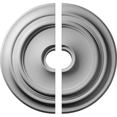 32-5/8 in. x 6 in. x 1-1/2 in. Giana Urethane Ceiling Medallion, 2-Piece (Fits Canopies up to 7-7/8 in.)