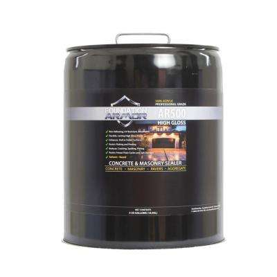 5 gal. Solvent Based Acrylic High Gloss Concrete Sealer and Paver Sealer