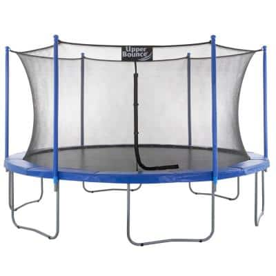 14 ft. Trampoline and Enclosure Set Equipped with Easy Assemble Feature