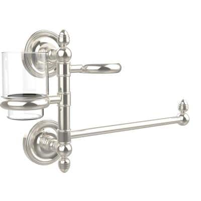 Prestige Regal Collection Hair Dryer Holder and Organizer in Polished Nickel