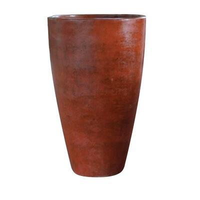 16 in. x 28 in. Clay Terina Pot