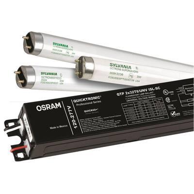 Quicktronic 4 x 32-Watt, 120-Volt T8, Instant Start Professional Electronic Ballast