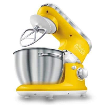 4.2 Qt. 6-Speed Yellow Stand Mixer with Dough Hook