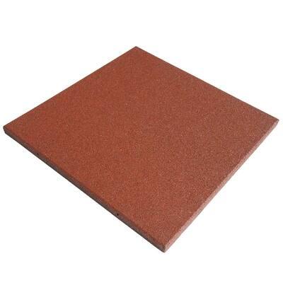 Eco-Sport 1 in. T x 1.66 ft. W x 1.66 ft. L Terracotta Interlocking Rubber Flooring Tiles (50.0 sq. ft.) (18-pack)