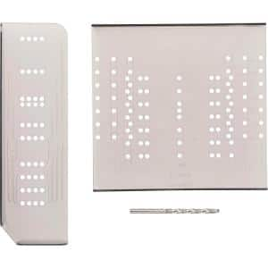 Align Right Large Cabinet Hardware Installation Template