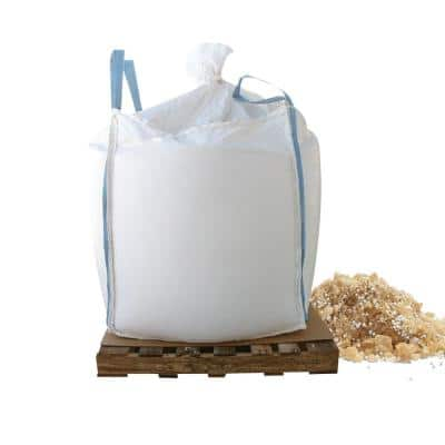 1000lb Skidded Supersack of Tri-Blend Coated Granular Ice Pelt w/Calcium Chloride Pellets