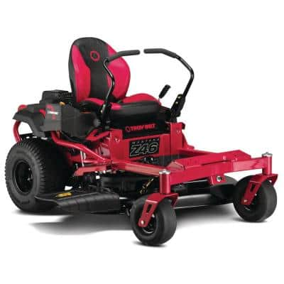 Mustang 46 in. 22 HP V-Twin Kohler 7000 Series Engine Dual Hydrostatic Drive Gas Zero Turn Riding Lawn Mower