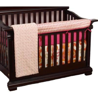 Sundance Cotton Feather Front Crib Rail Cover Up