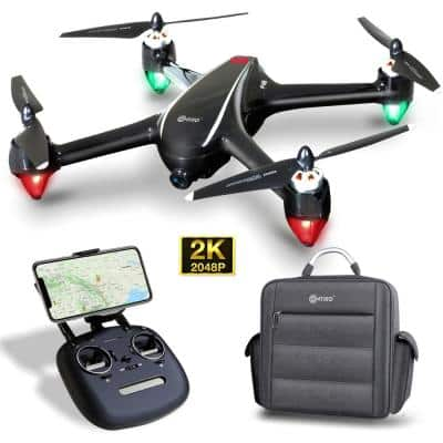 F18 RC Quadcopter Drone 2K FHD Camera Wi-Fi Live Video Photos Photography Altitude Hold RTH GPS FPV Brushless Motors