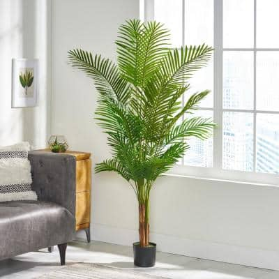 Gilliam 6 ft. Green Artificial Palm Tree